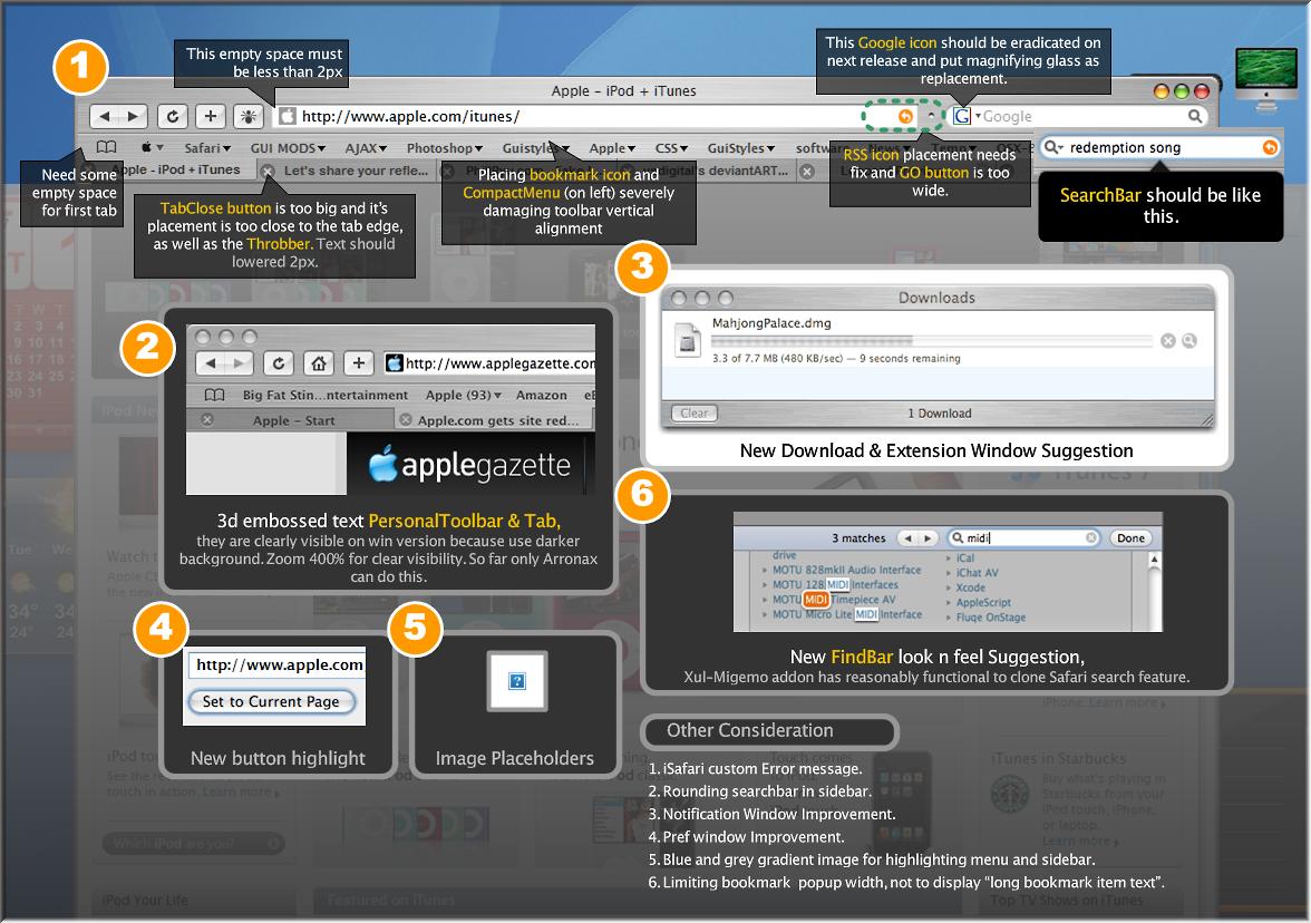 The iSafari, para Firefox