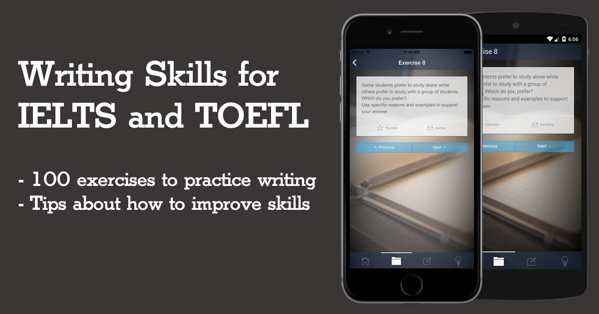 Writing for IELTS and TOEFL